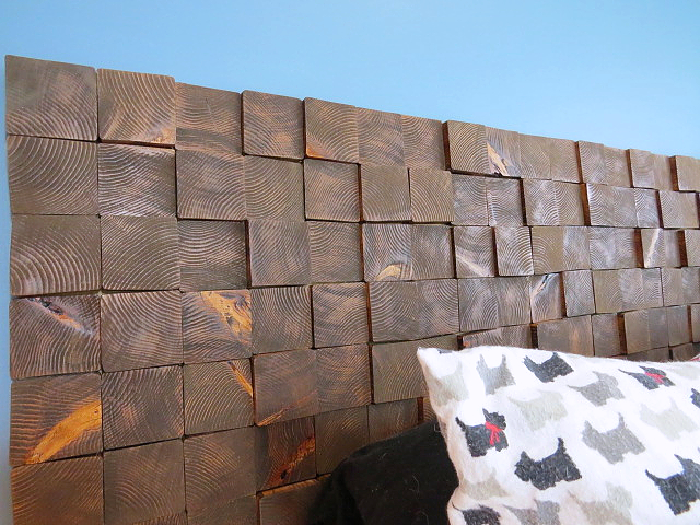closer view headboard blocks