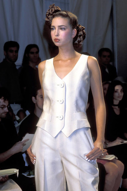 Ivanka Trump during the Zang Toi fashion show at Bryant Park in New York City, September 13, 1999. (Ron Galella/WireImage)