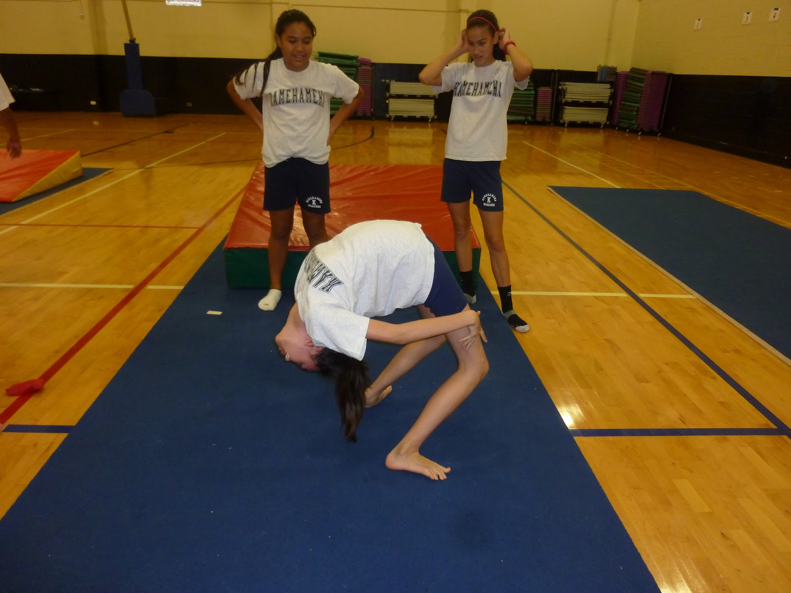 7th Grade Smarties More Back Walkovers And Some Goofyness