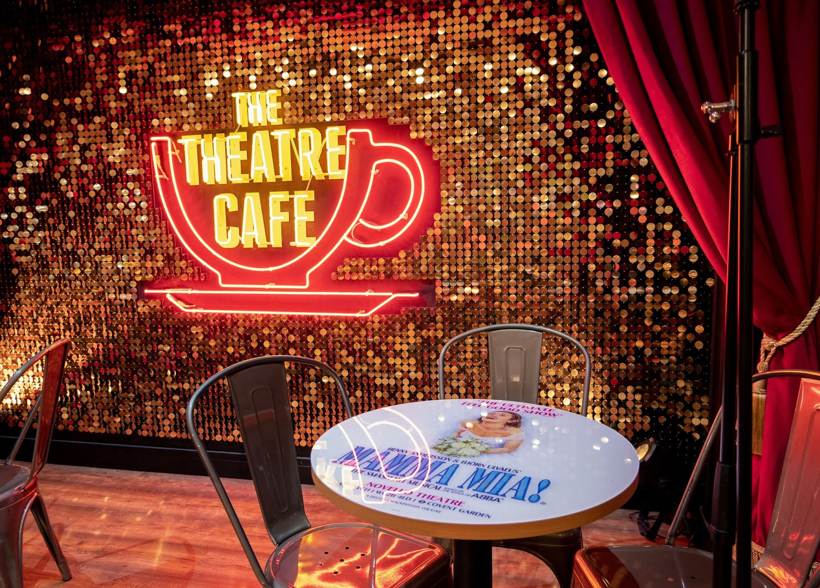 The Theatre Cafe stage, London