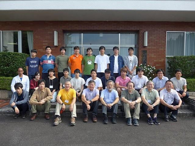 Pendiri IN@SAR bersama para pakar Synthetic Aperture Radar Jepang