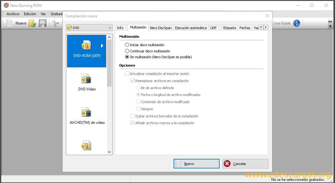 Nero Burning ROM 2020 Full Español