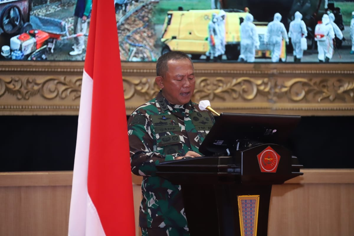 Kasum  TNI Buka Rakorter TNI Tahun 2021