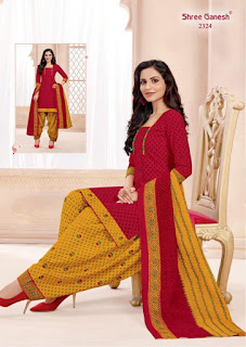 Shree Ganesh Hansika vol 3 Cotton dress buy wholesale