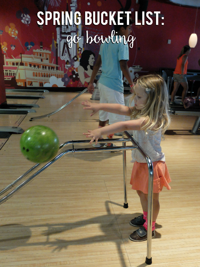 Sweet Turtle Soup - Spring Bucket List: go bowling