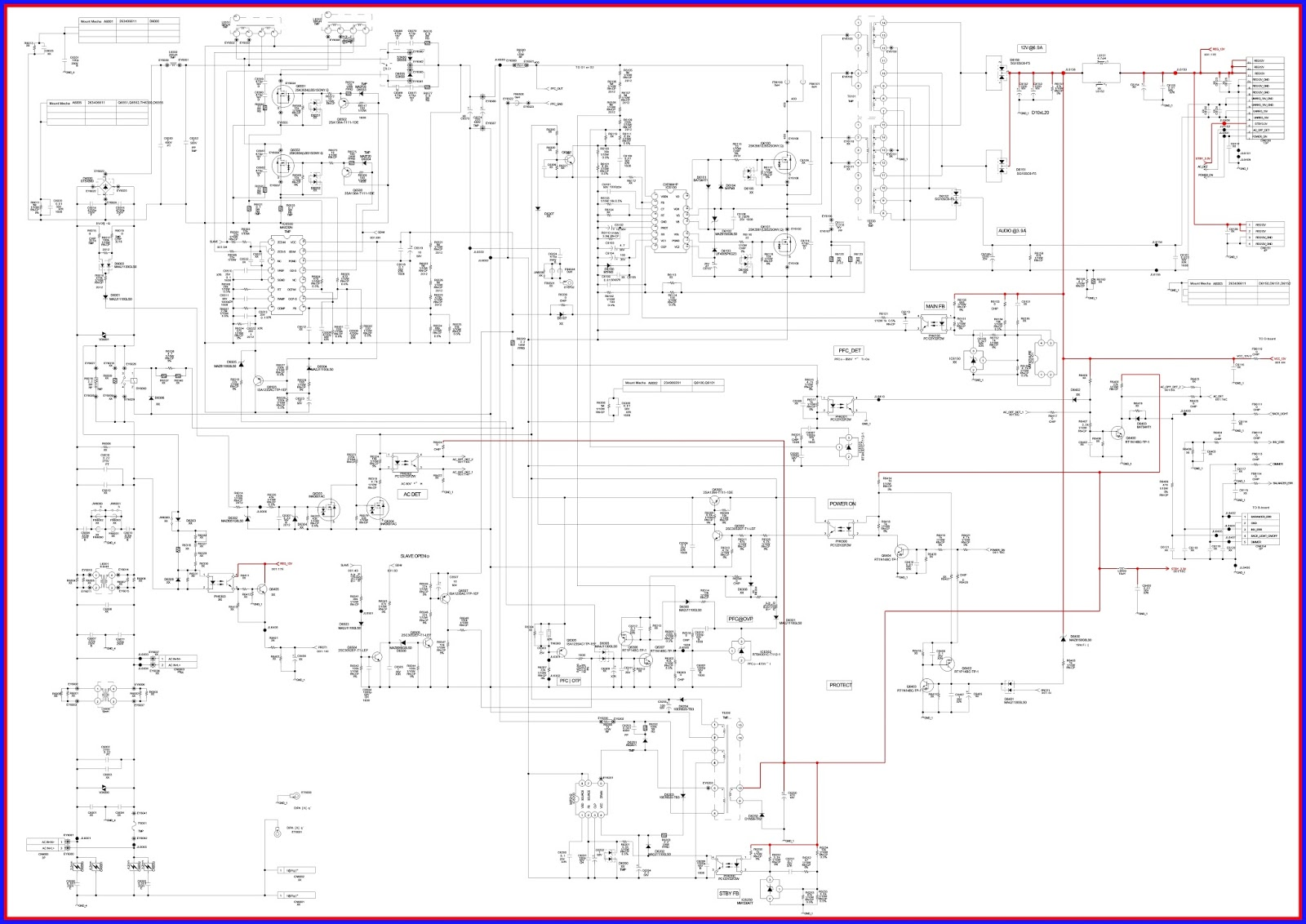 ELECTRONIC EQUIPMENT REPAIR CENTRE : SONY KDL-40U4000 LED