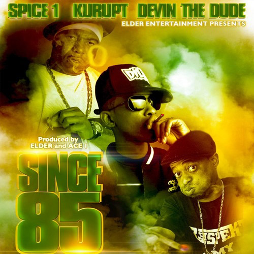"O rapper da Bay Area, Spice 1, lança o single ""Since 85"", com part. de Kurupt e Devin the Dude"