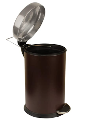 Add Soul Stainless Steel Pedal Dustbin With Attractive Color Options & Easy Grip Bottom