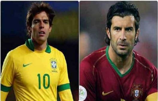 Star footballer Kaka and Luis Fago will reach Pakistan on January 10