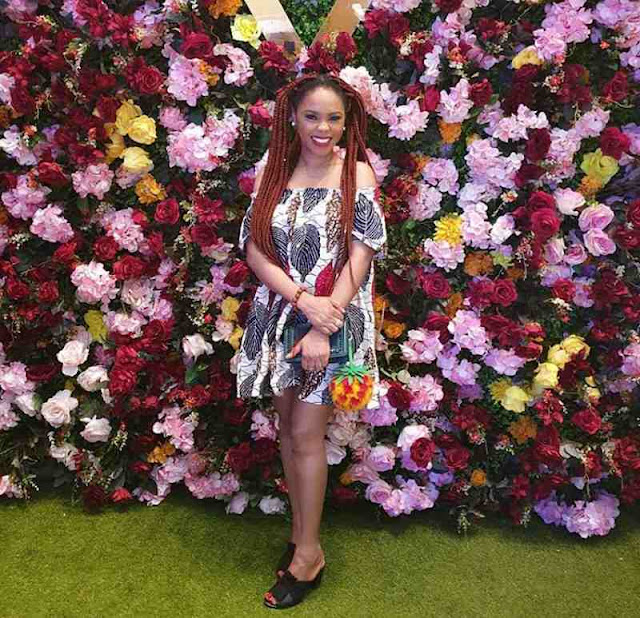 Chidinma Ekile looks stunning in simple Ankara styles