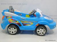 Mobil Mainan Aki ELITE 633R SPACE SUPER COP dengan BOOM BOX 4