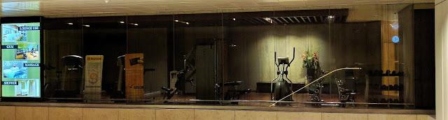 Changi Airport Gym