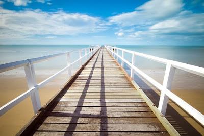 Los entornos acuáticos con el color azul son beneficiosos para la salud mental y el bienestar