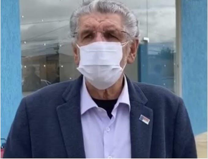 HERZEM | Com pulmões comprometidos, prefeito de Conquista chega a SP e manterá tratamento com antibióticos de terceira geração
