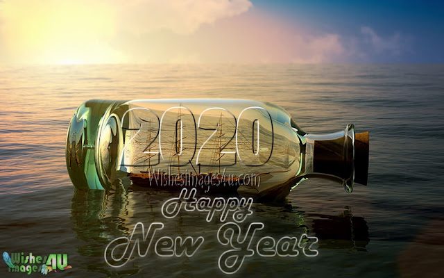 Happy New Year 2020 3D Pics For Desktop Background Wallpaprs