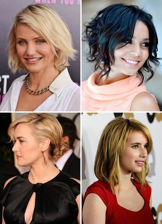 Shoulder length hairstyles for thin and fine hair