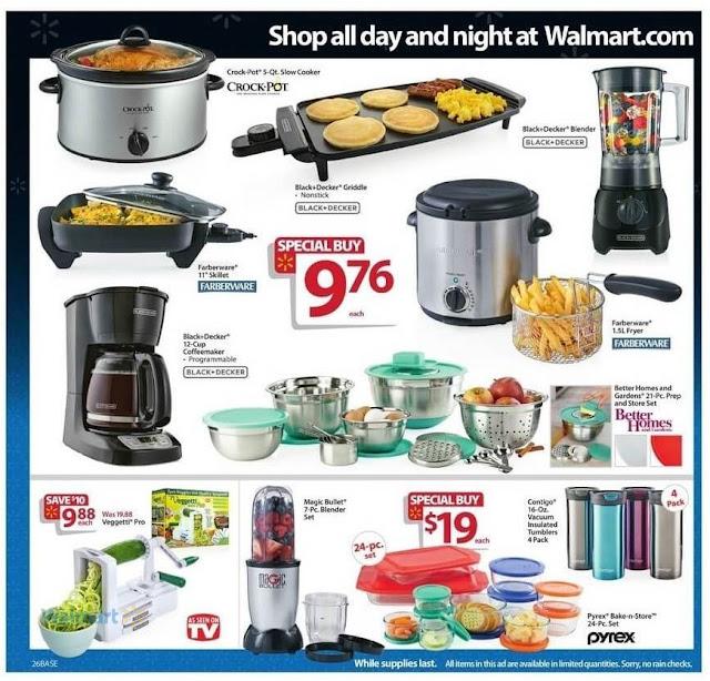 Walmart Black Friday Deals 2016 On Kitchen Appliances