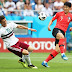 Half-time score  Mexico 1 – 0 South Korea #WorldCup