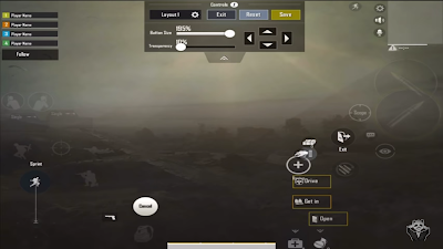 Panda - PUBG Mobile settings