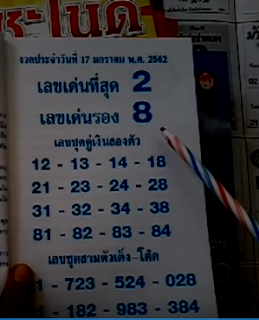 Thailand Lottery 3up Rob Guidelines For sixteen-01-2019 | VIP Formula