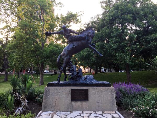 Texas Cowboy Monument - Austin, TX - Tori's Pretty Things Blog