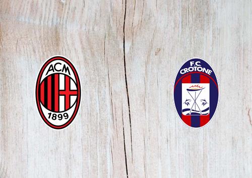 Milan vs Crotone -Highlights 07 February 2021