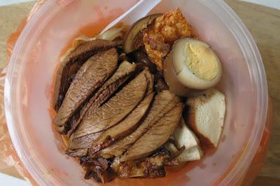 Kim Kitchen Braised Duck, duck kuey teow