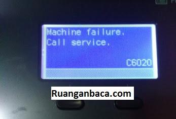 Error Code F000 dan C6020 Fotocopy Kyocera