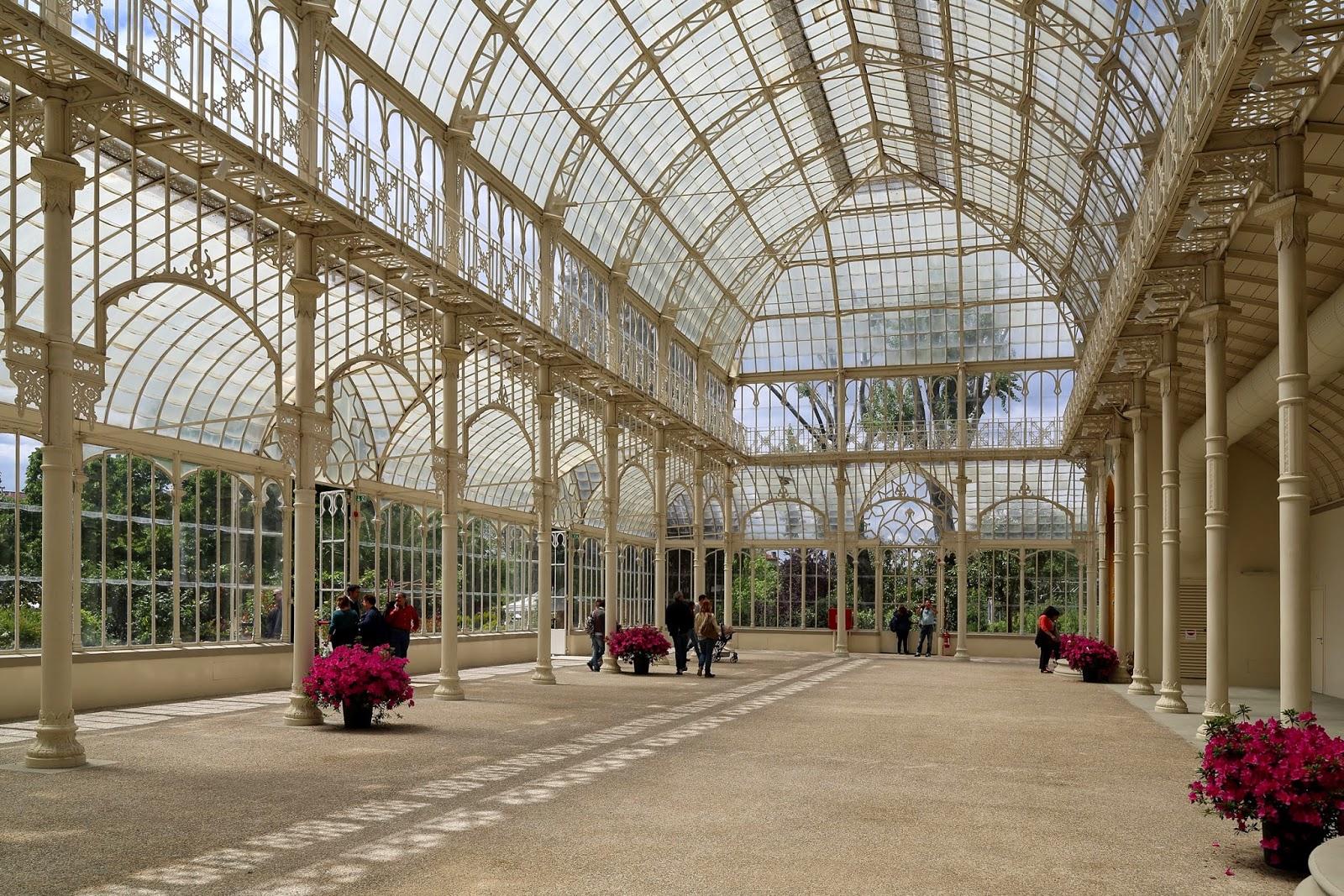 Terre incognite il tepidario del giardino dell - Giardino dell orticoltura firenze ...