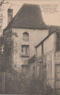 CPA Eglise Saint-Pierre de Neufchâtel