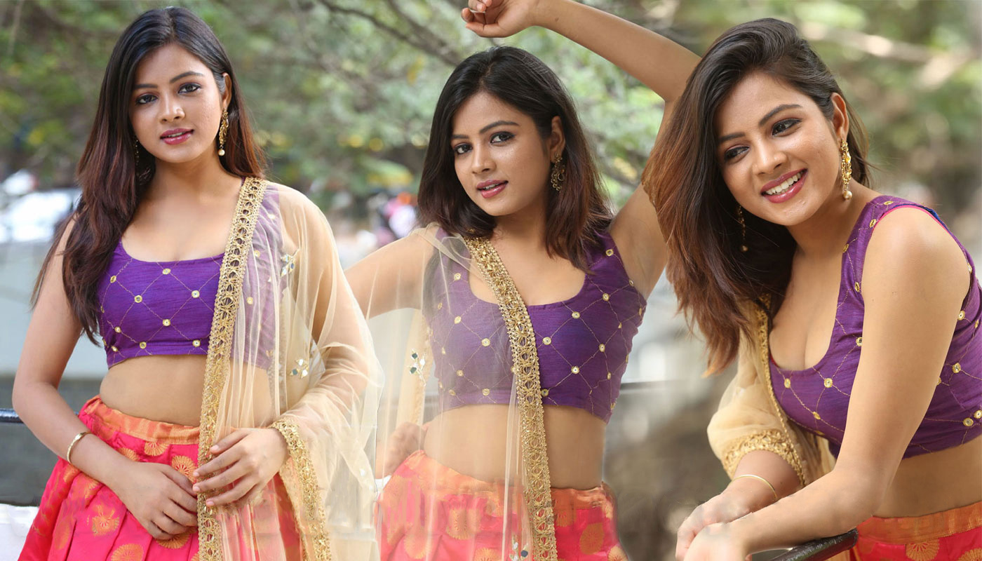 Actress Renusri photos stills from Aadharam Movie poster launch
