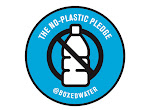 FREE No-Plastic Pledge Stickers and Boxed Water Coupon