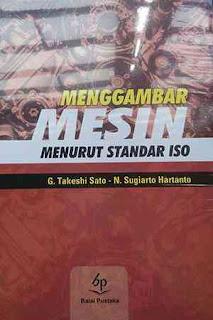 MENGGAMBAR MESIN MENURUT STANDAR ISO