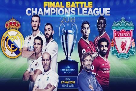 ialah salah satu ajang kompetisi teratas dan paling bergengsi klub Highlight Cuplikan Video Gol Real Madrid Vs Liverpool  3-1 di Final Champion 2018