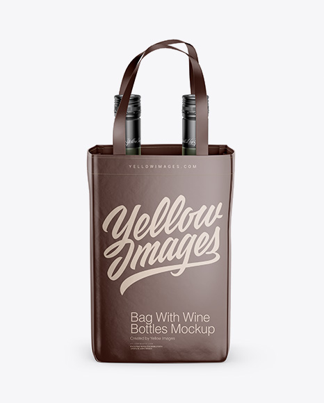 This free mockup is easy to download and use, it can be customized. 60 Best Wine Bag Mockup Templates Free Premium