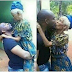 This photo of a man kissing his grandmother has got people talking