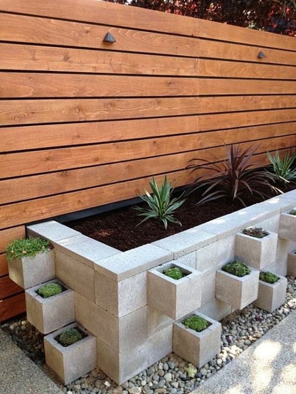 Concrete blocks for exterior decorating | lasthomedecor.com 3