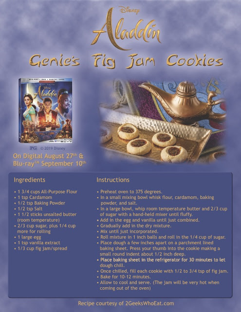 Disney's live-action Aladdin recipe