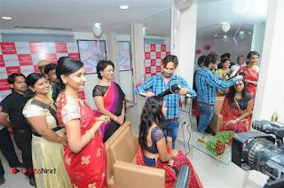 Telugu Actress Bhanu Sri Stills in Lehenga Choli at Anoo's Salon Launch at Ongole  0020.jpg