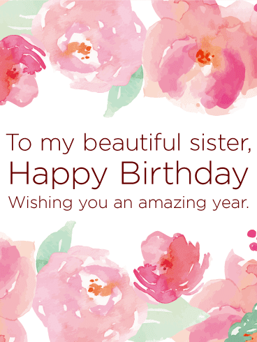 Happy Birthday Sister Wishes | Quotes | Messages and Images