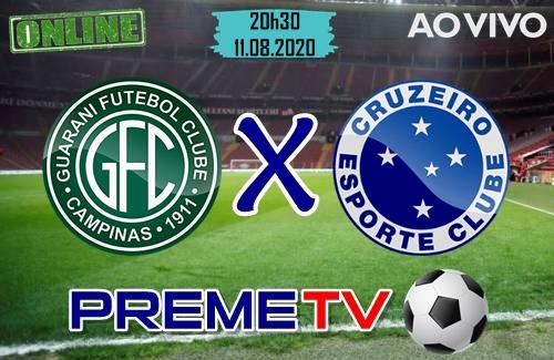 Guarani x Cruzeiro Hoje Ao Vivo