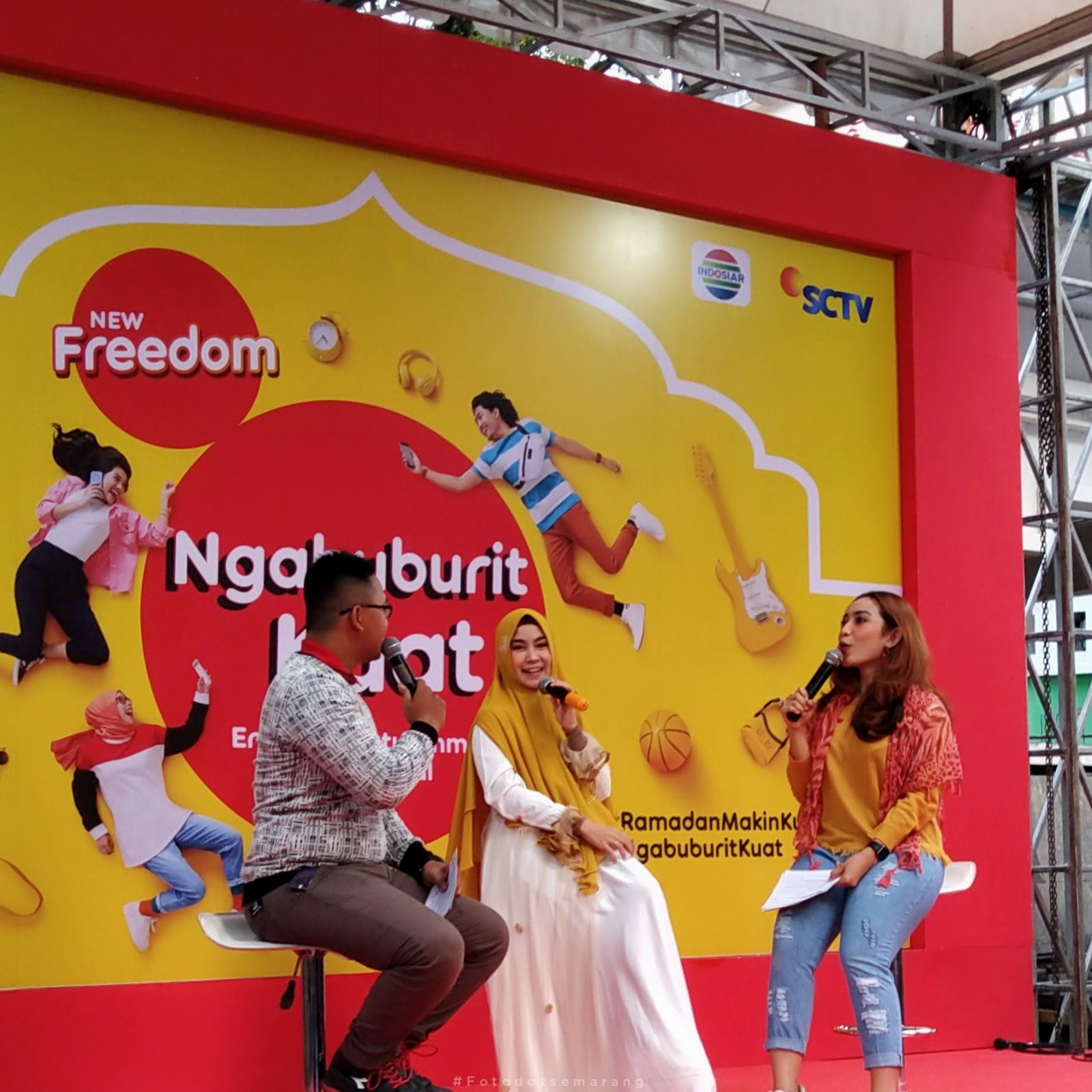 [#IGTV]  Anisa Rahma di Semarang, Talkshow dan Bernyanyi