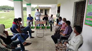 किसानों को धान उत्पादन की दी गयी जानकारी  | #NayaSaberaNetworkकिसानों को धान उत्पादन की दी गयी जानकारी  | #NayaSaberaNetwork