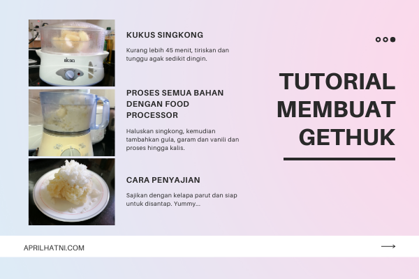 tutorial membuat gethuk