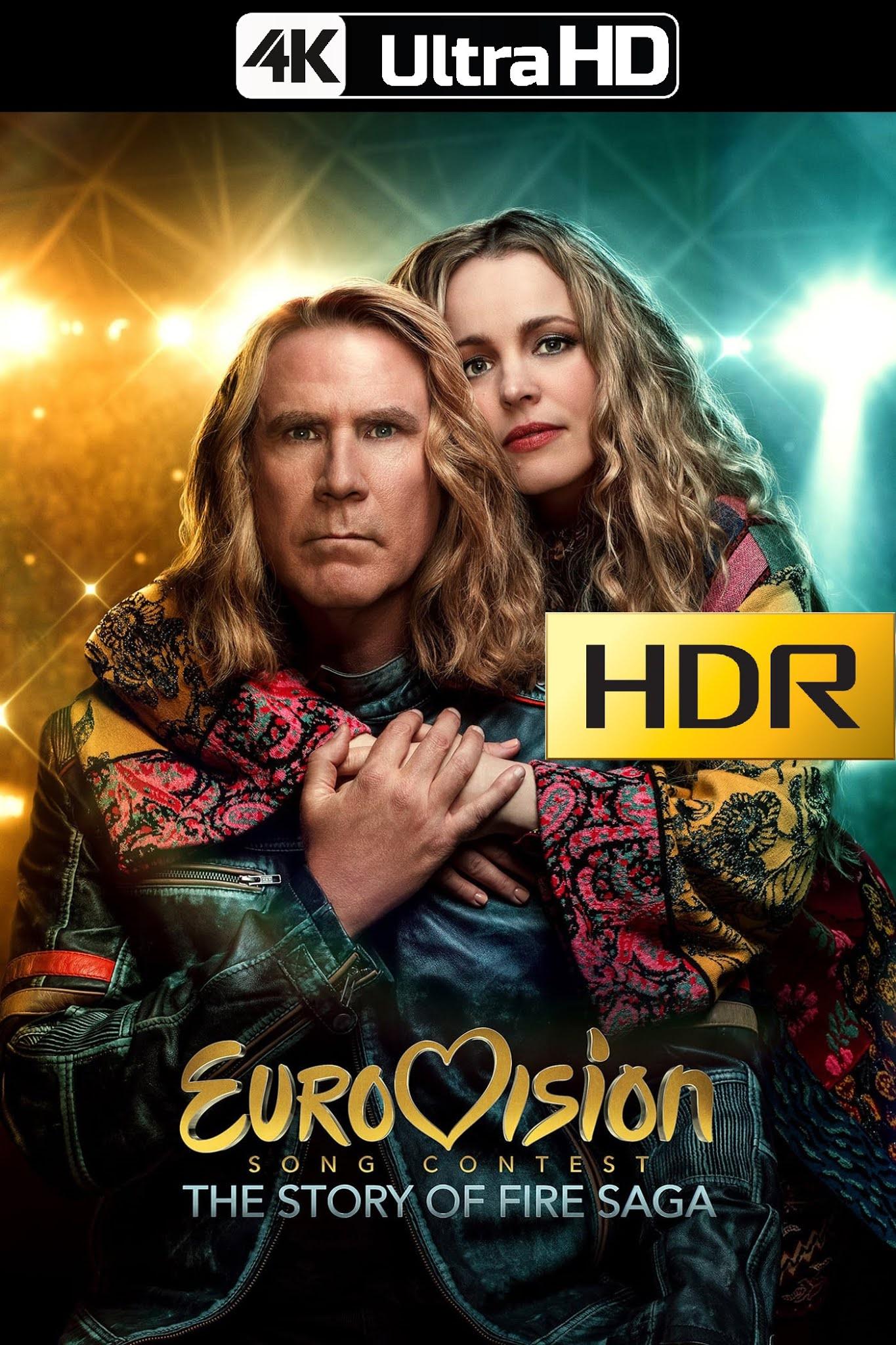 Festival de la Canción de Eurovisión: La historia de Fire Saga (2020) 4K UHD HDR Web-DL Latino