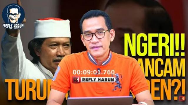Cak Nun Berucap Akan Turunkan Presiden, Begini Komentar Tajam Refly Harun
