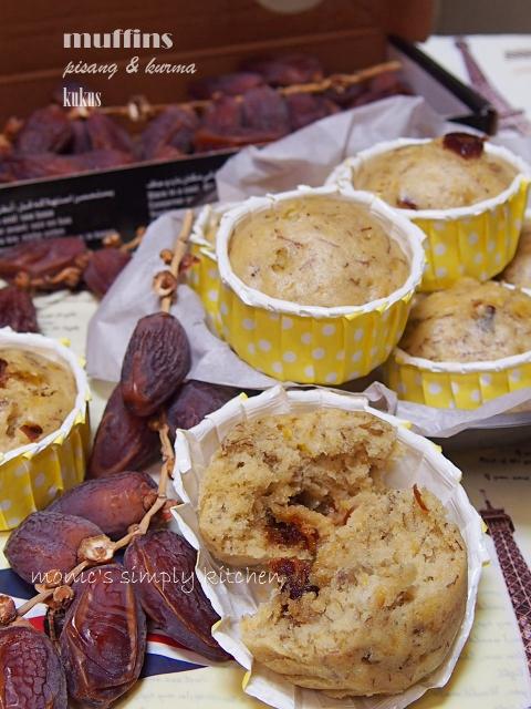 olahan kurma muffin