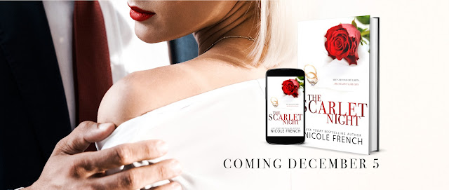 COVER REVEAL: THE SCARLET NIGHT by Nicole French