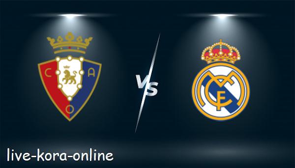 نتيجة مباراة ريال مدريد وأوساسونا اليوم بتاريخ 01-05-2021 في الدوري الاسباني
