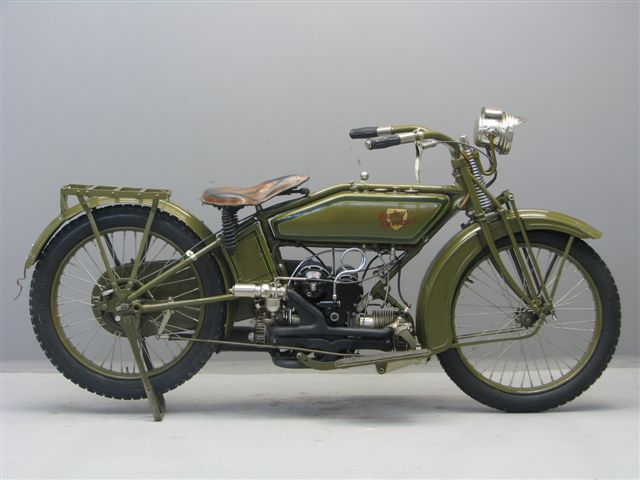 [Photos] Harley Davidson Model W Sport 600cc 1919